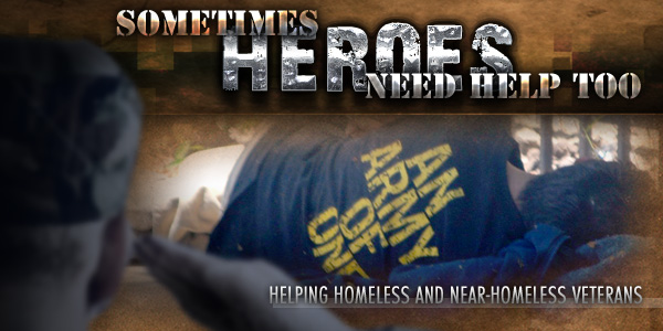 Homeless Vets Are Heroes